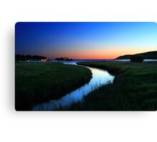 Sunrise over Gore Bay, Manitoulin Island, Ontario Canvas Print