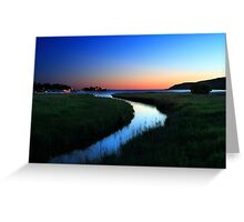 Sunrise over Gore Bay, Manitoulin Island, Ontario Greeting Card