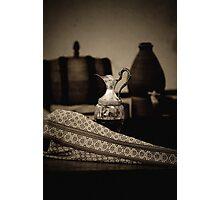 Brandy Decanter Photographic Print