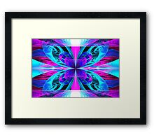 Butterfly Bows Framed Print