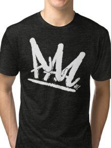 Ain't Royal - AAAH! (Black Series) Tri-blend T-Shirt