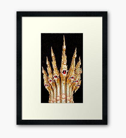Bow Dragons Framed Print