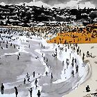beach by Loui  Jover