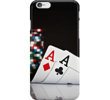 Poker Best Hand  iPhone Case/Skin