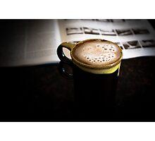 Coffee & Some reading Photographic Print