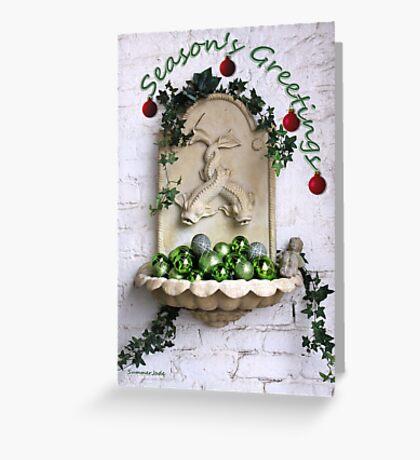 Happy Holidays ~ Season's Greetings Greeting Card