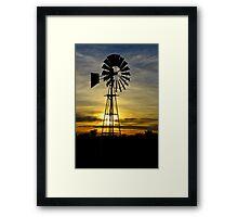 Farm Sunrise Framed Print