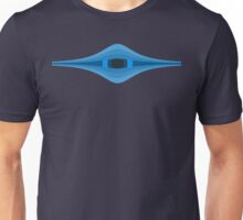 Onion Eye - Horizontal Blue Unisex T-Shirt
