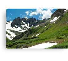 Mountains and Sky Canvas Print