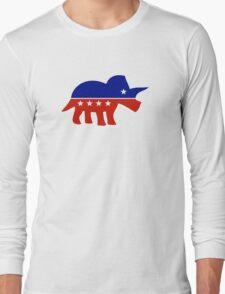 Triceratops Political Logo T-Shirt