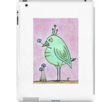 The Green Bird iPad Case/Skin
