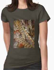 pheasant feathers 2 Womens Fitted T-Shirt