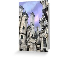The Sentinels of Chambord (3) Greeting Card