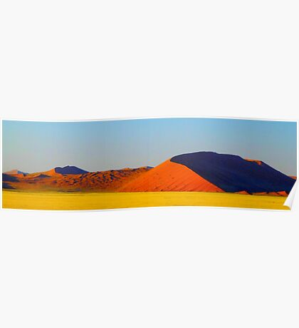 the red dunes Poster