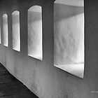 Windowed Hallway by Val Blakely