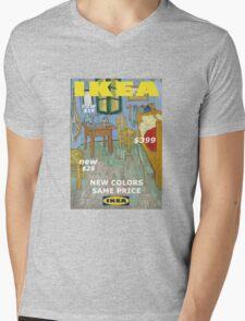 Ikea vincent Mens V-Neck T-Shirt