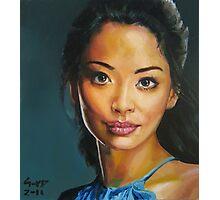 portrait piece - asian beauty Stephanie Jacobsen Photographic Print