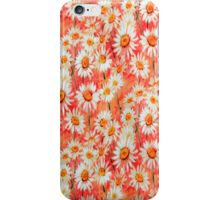Daisy Floral Peach iPhone Case iPhone Case/Skin