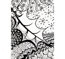 ATC Holly doodle Photographic Print
