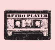 retro tape One Piece - Short Sleeve