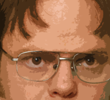 WRONG...Dwight Schrute Sticker