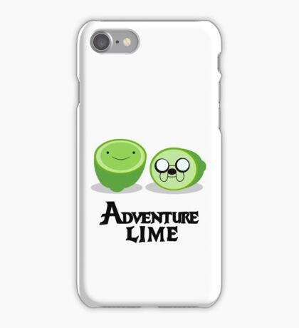 Adventure Lime iPhone Case/Skin