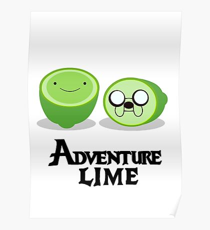 Adventure Lime Poster