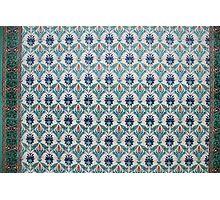 Mosaic, Mosque, Islam, Dalston, London, UK  Photographic Print