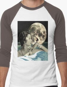 Moon skier Men's Baseball ¾ T-Shirt