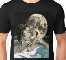 Moon skier Unisex T-Shirt