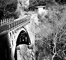 Old Railway Bridge by Katerina Vorvi