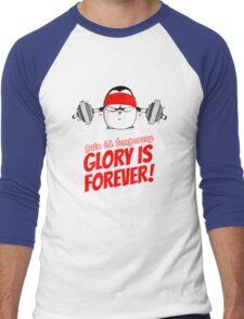 Pain Is Temporary, Glory Is Forever! v.1 Men's Baseball ¾ T-Shirt