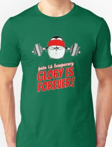 Pain Is Temporary, Glory Is Forever! v.1 T-Shirt