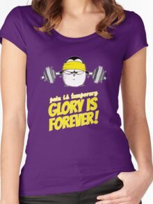 Pain Is Temporary, Glory Is Forever! v.2 Women's Fitted Scoop T-Shirt
