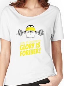 Pain Is Temporary, Glory Is Forever! v.2 Women's Relaxed Fit T-Shirt