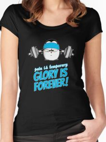 Pain Is Temporary, Glory Is Forever! v.3 Women's Fitted Scoop T-Shirt