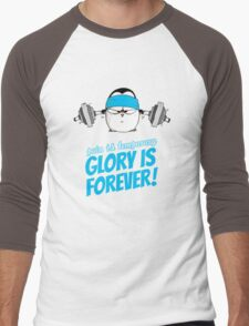 Pain Is Temporary, Glory Is Forever! v.3 Men's Baseball ¾ T-Shirt