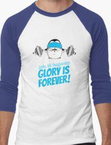 Pain Is Temporary, Glory Is Forever! v.3 Men's Baseball ¾ T-Shirt