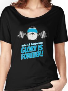 Pain Is Temporary, Glory Is Forever! v.3 Women's Relaxed Fit T-Shirt