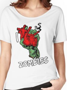 I Heart Zombies Women's Relaxed Fit T-Shirt