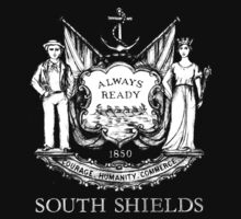 South Shields Coat of Arms White