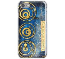 SciFi Mixed Media Art  - Portrait Format iPhone Case/Skin