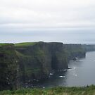 The cliffs of Moher in Ireland County Clare by kirandesigns
