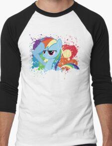 Salute to Rainbow Dash Men's Baseball ¾ T-Shirt
