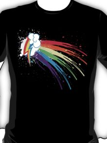 Rainbow Slash T-Shirt