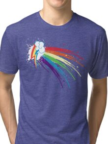 Rainbow Slash Tri-blend T-Shirt