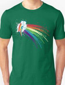 Rainbow Slash Unisex T-Shirt