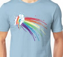 Rainbow Slash Unisex T-Shirt