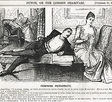 Reverse Psychology Punch Cartoon 1888 by artfromthepast