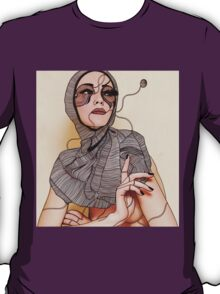 While you are away my heart comes undone, slowly unravels in a ball of yarn T-Shirt